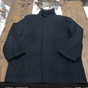 Perry Ellis Portfolio Black Jacket, Large